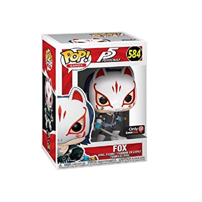 Funko Pop! Persona 5 Fox Exclusive Vinyl Figure 584: Toys & Games
