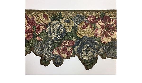 Laser Cut Floral Wallpaper Border Craftsman No 682302