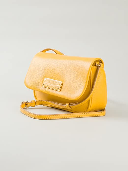 64aa983ab370 Amazon.com  MARC BY MARC JACOBS TOO HOT TO HANDLE SOFIA Yellow CROSSBODY BAG   Shoes