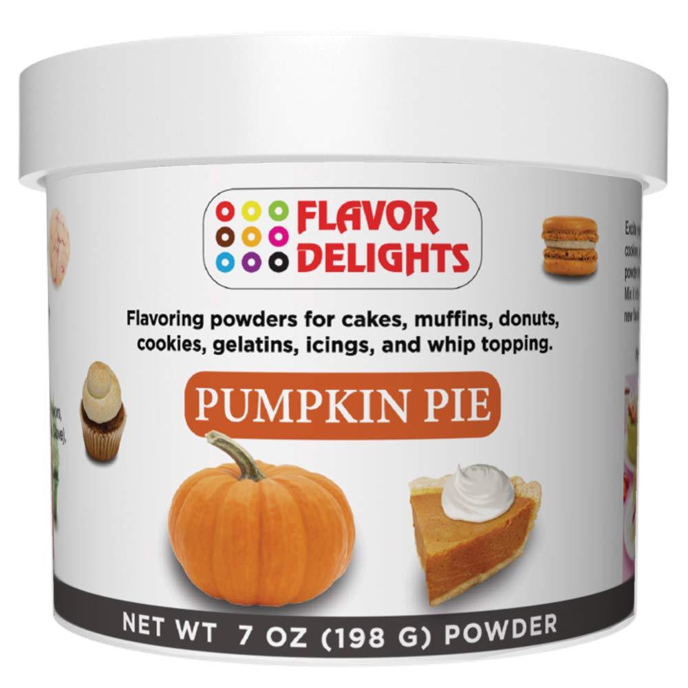 Flavor Delights Flavored Powder Bakery Mix Pumpkin Pie