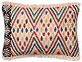 Loloi Pillow, Justina Blakeney Poly Filled – Multi Pillow Cover, 13″ x 21″ For Sale