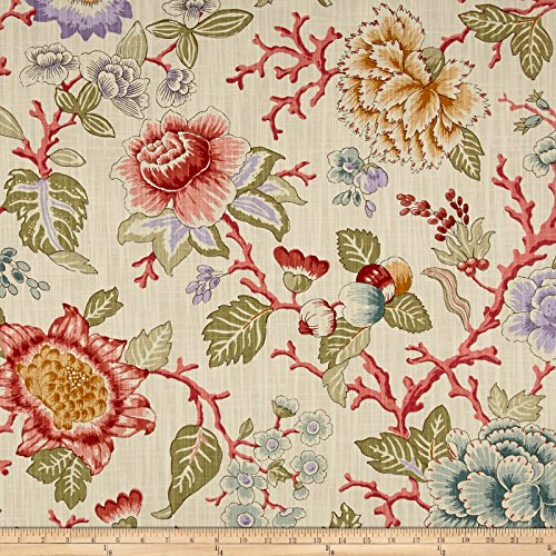 P/Kaufmann Coral Grove Cream Fabric By The Yard