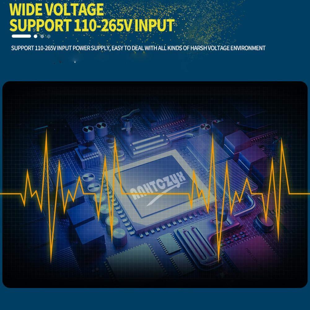 24V 7,2A UltraSafe Smart Chargeur de Batterie enti/èrement Automatique pour Voitures Motos et Autres Batteries de Sauvetage et de r/écup/ération AITOCO Chargeur de Batterie 12V