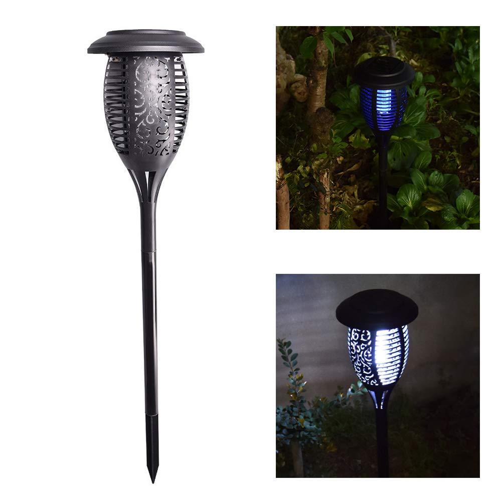 Black LED Solar Mosquito Killer Lamp,Anti Mosquito Lamp,Outdoor Garden Lawn Landscape Light,Black