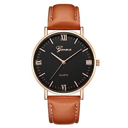 Iuhan® Quartz Wrist Watch for Women Girls Ladies, Women Watches Leather Band Luxury Quartz Watches Girls Ladies Wristwatch Relogio Feminino Reloj para Mujer
