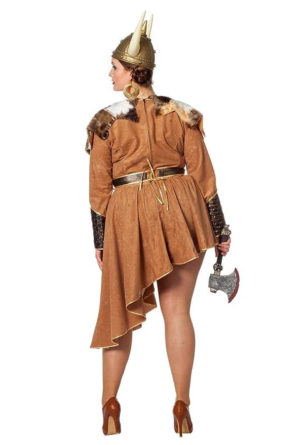 Wilbers Disfraz de Vikingo para Mujer: Amazon.es: Juguetes y ...