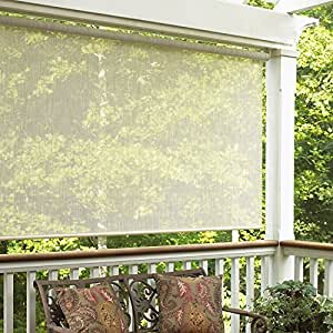 Radiance 0378106 Sahara Roller Exterior Sun Shade 120 Inch Wide By 72 Inch Long By