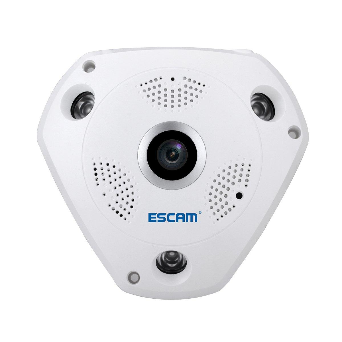 New Landing 1.3MP 960P 360 Degree Fish Eyes Lens Wireless IP Camera