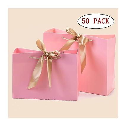 Popowbe 50 bolsas de papel marfil para la compra, la compra ...