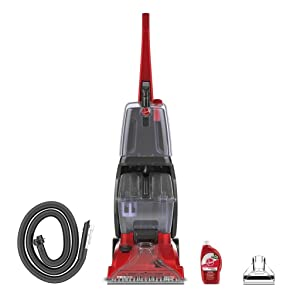 Hoover FH50135 Power Scrub Carpet Cleaner, Red