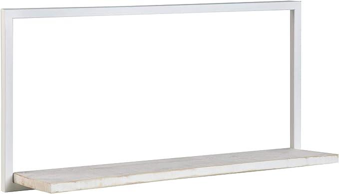 BANAK IMPORTA Nordic - Estantería de Metal 80 Blanco, Madera ...