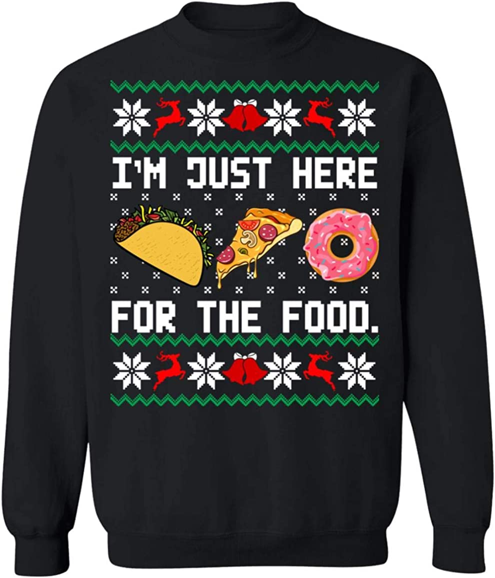 im just here for The Food Christmas Sweater Hoodie Shirt