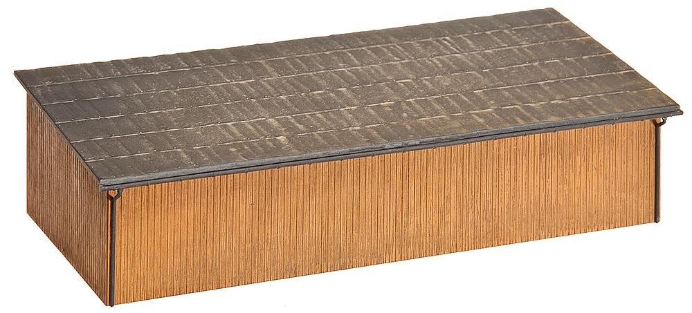 Amazon.com: Faller 130523 Hay Storage Shed/Workshop HO Scale Building Kit: Toys & Games