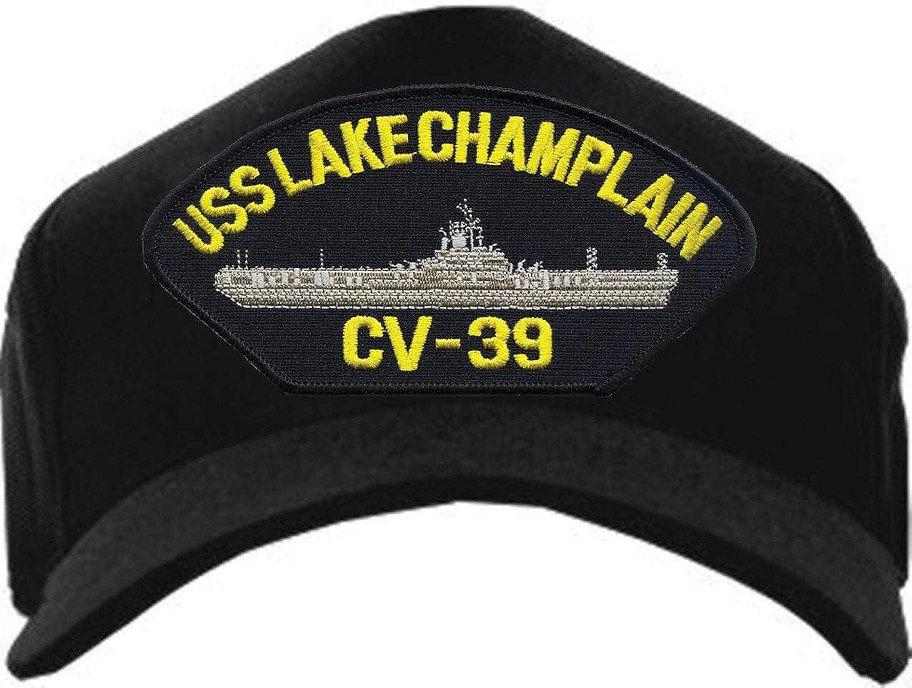 Eagle Crest USS Lake Champlain CV-39 Navy Baseball Cap
