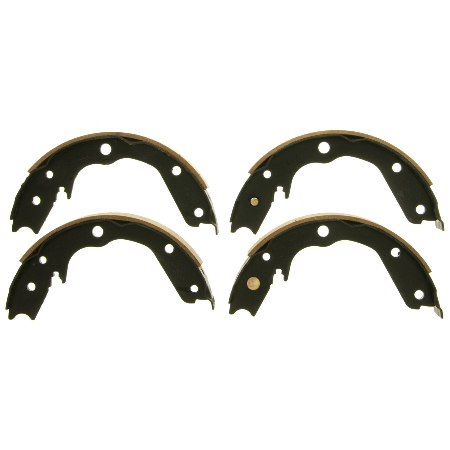 Wagner Z858 Parking Brake Shoe Set, Rear