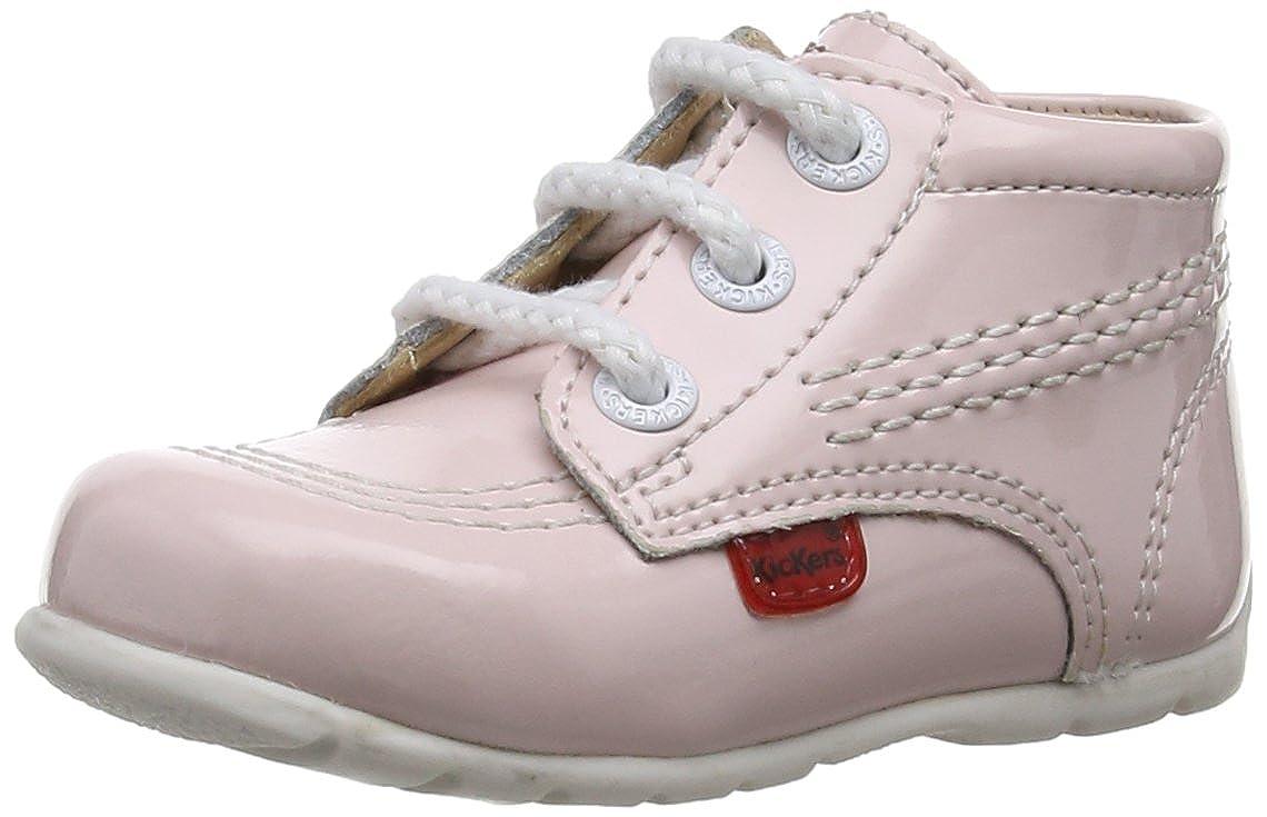 Kickers - Scarpe primi passi, Unisex - bambino, Pink,