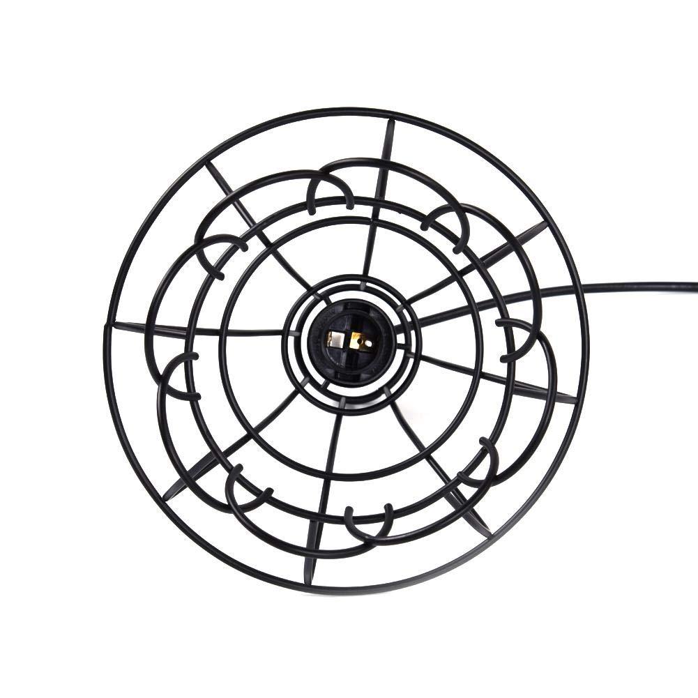 R/étro Fer Forg/é Noir M/étal Lustre Salon Suspension Forme G/éom/étrique Int/érieur Luminaires pour Salon Caf/é Urben Life Lustre Chambre Chambre /À Coucher Salle /À Manger Bar Bureau