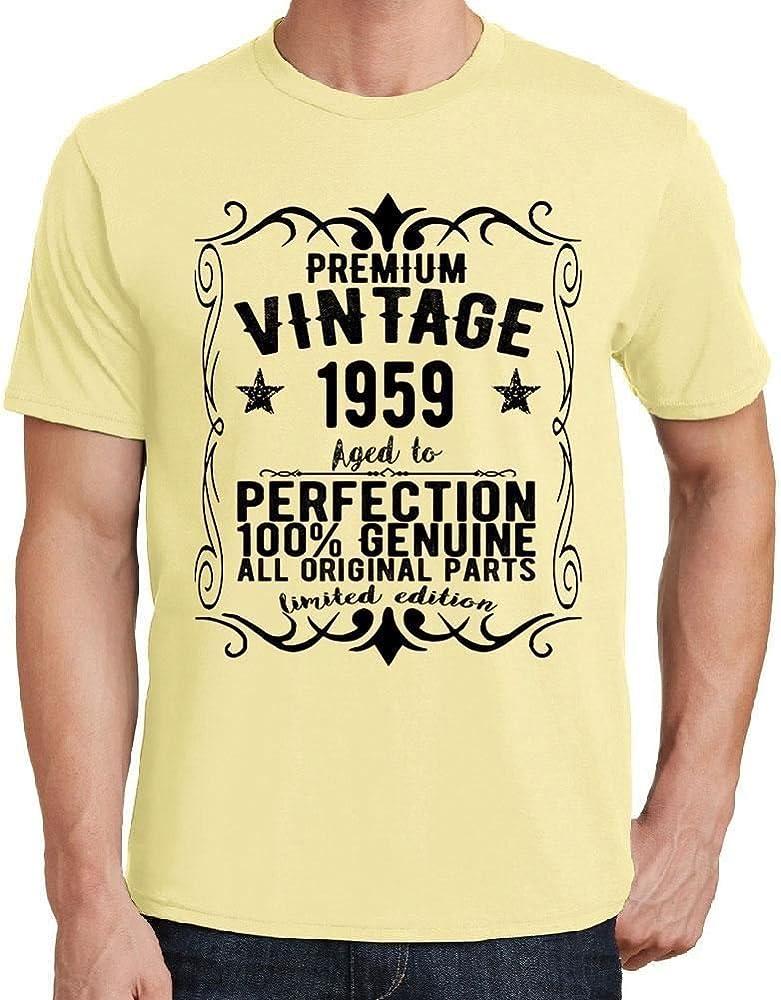 One in the City Premium Vintage Year 1959 Amarilla Camiseta ...