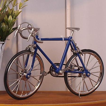 Cvthfyky Manual de Bicicleta de Carreras de Bicicletas de Moda Vintage creativos Muebles para el hogar Adornos (Color : Dark Blue): Amazon.es: Hogar