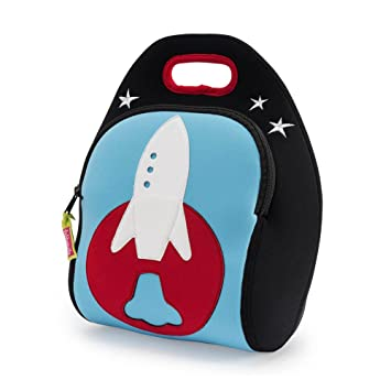 Dabbawalla Bags Out of this World Rocket Kids  Insulated Washable    Eco-Friendly Lunch aae6355e862fb