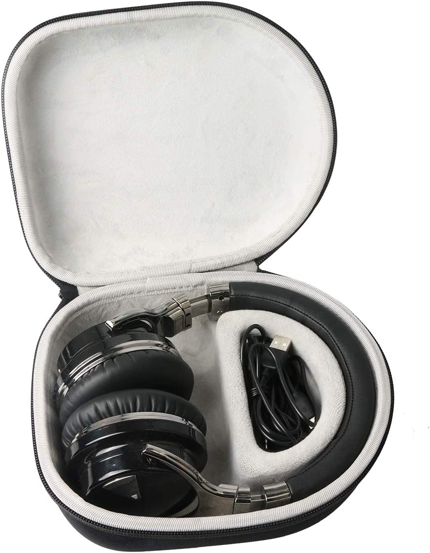 Headphone Hard Case for COWIN E7 / E7 PRO Active Noise Cancelling Bluetooth Headphones by Khanka