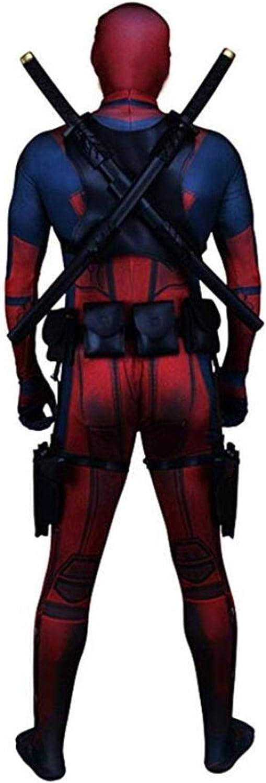 Unisex Superhero Spandex Zentai Halloween Cosplay Costumes Adult//Kids 3D Style