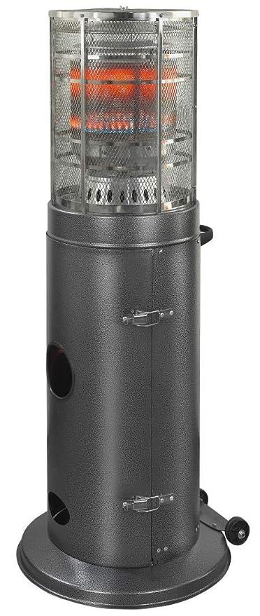 Calentador de gas estufa Vertical Calefacción de Terraza (Ventilador calefactor calefactor