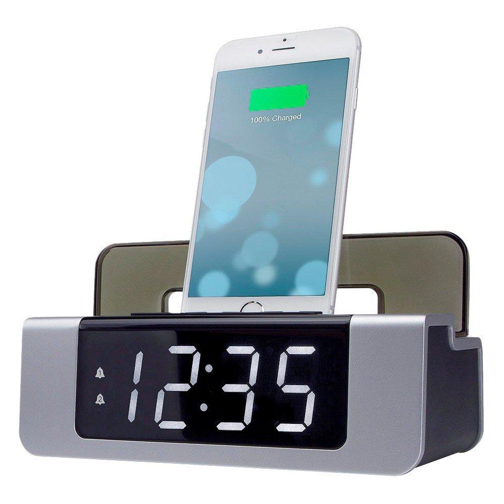 Amazon.com: Capello Triple Charge Clock: Home & Kitchen