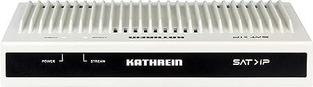 Kathrein EXIP 4124 SAT>IP Server (SAT2IP, max. 24 Teilnehmer, Gigabit LAN, K-LAN, DLAN, POWER-LAN, WLAN-Einbindung über Route