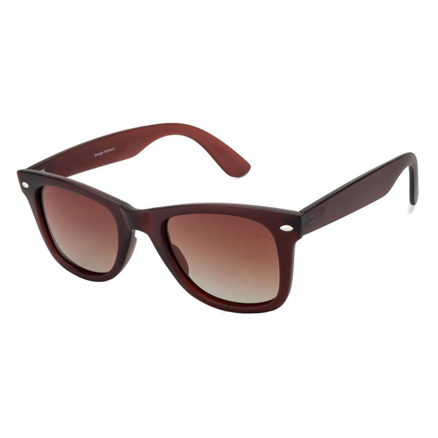 7ca51a377 Jazz Style Brown Frame Brown Lens Unisex Wayfarer Sunglasses: Amazon.in:  Clothing & Accessories