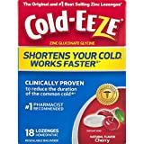 Cold-EEZE Cold Remedy Lozenges All Natural Cherry, 18 Count, Cold...