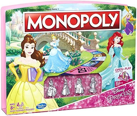 Monopoly Game Disney Princess Edition: Amazon.es: Juguetes y juegos