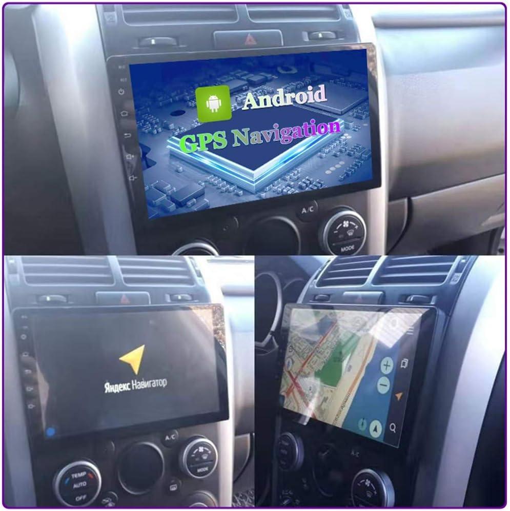 XXRUG Android Car Stereo Sat Nav para Suzuki Grand Vitara 2005~2015 Unidad Principal Sistema De Navegaci/ón GPS Pantalla T/áctil HD Compatible con C/ámara De Respaldo DVR 4G WiFi