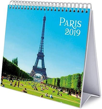 Calendario Da Tavolo 2019 London 17 X 20 Cm Grupo Erik