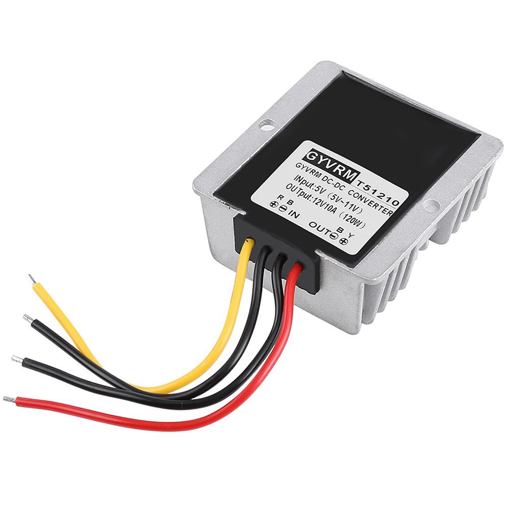 Hilitand DC-DC Boost Convertisseur Step Up 5V-12V 10A 120W Module d'alimentation d'Energie de Sortie Tension Ré glable