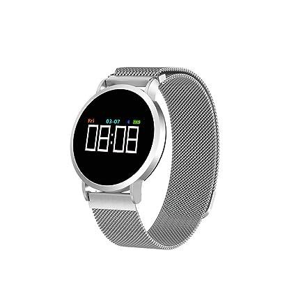 Oasics - Pulsera de Fitness para Hombre y Mujer, Reloj Inteligente F1 Smart Watch,