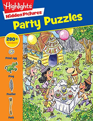 Party Puzzles (Highlights™ Sticker Hidden