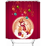 """Standard-Store Custom Christmas Gifts Decorations Waterproof Polyester Fabric Shower Curtain 60"""" x 72"""""""