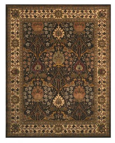Eorc Wool (EORC OT31BN Brown Hand Tufted Wool Morris Rug, 4' x)