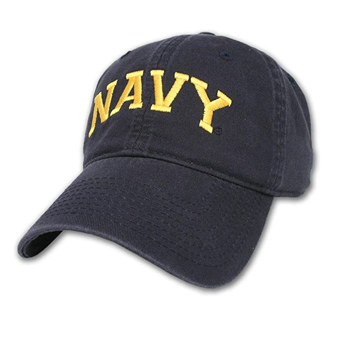 25db71293f8 Amazon.com  Legacy Men s Navy Arch Hat (Adjustable)  Clothing