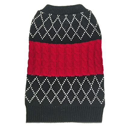 Amazon Azuza Dog Sweater Dog Knit Pullover Fall Winter Warm