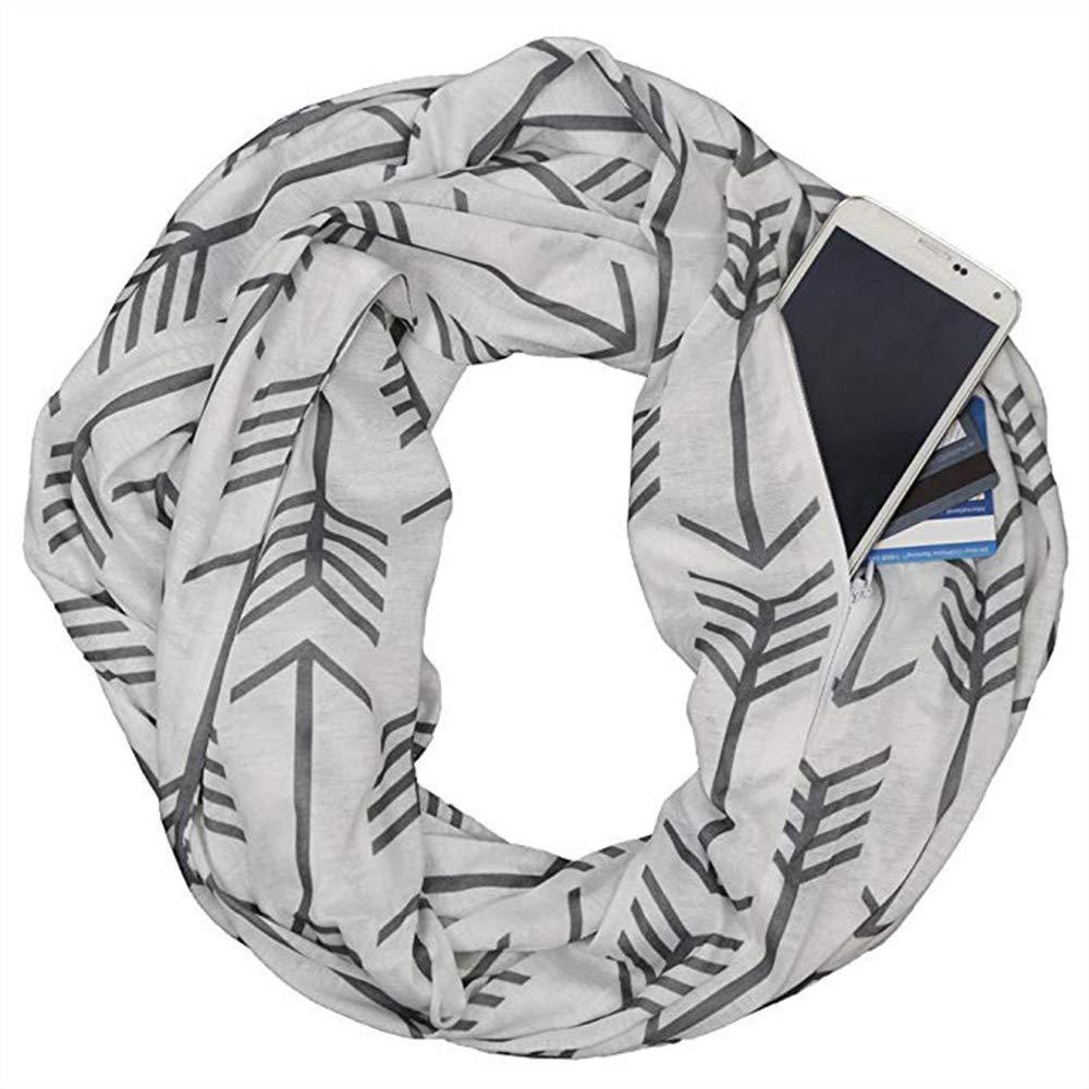 50Cm WDGT Infinity /Écharpe Poche /À Glissi/ère De La Fl/èche Mod/èle Bib Peut /Être Charg/é Mobile//Changement//Carte,180