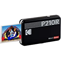 "Kodak Mini 2 Retro 2.1x3.4"" Portable Instant Photo Printer, Wireless Connection, Compatible with iOS, Android…"