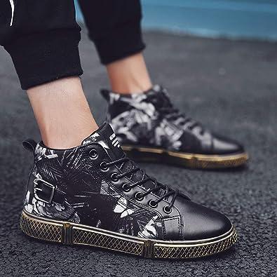 Allacciatura Stringate Sneaker ASHOP con A Farfalla Alte Scarpe Uomo xY1nqI6S