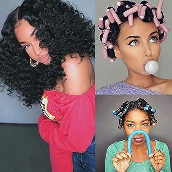 Amazon Com 3pack Hair Flexi Rods Curlers Flexible Rods Set