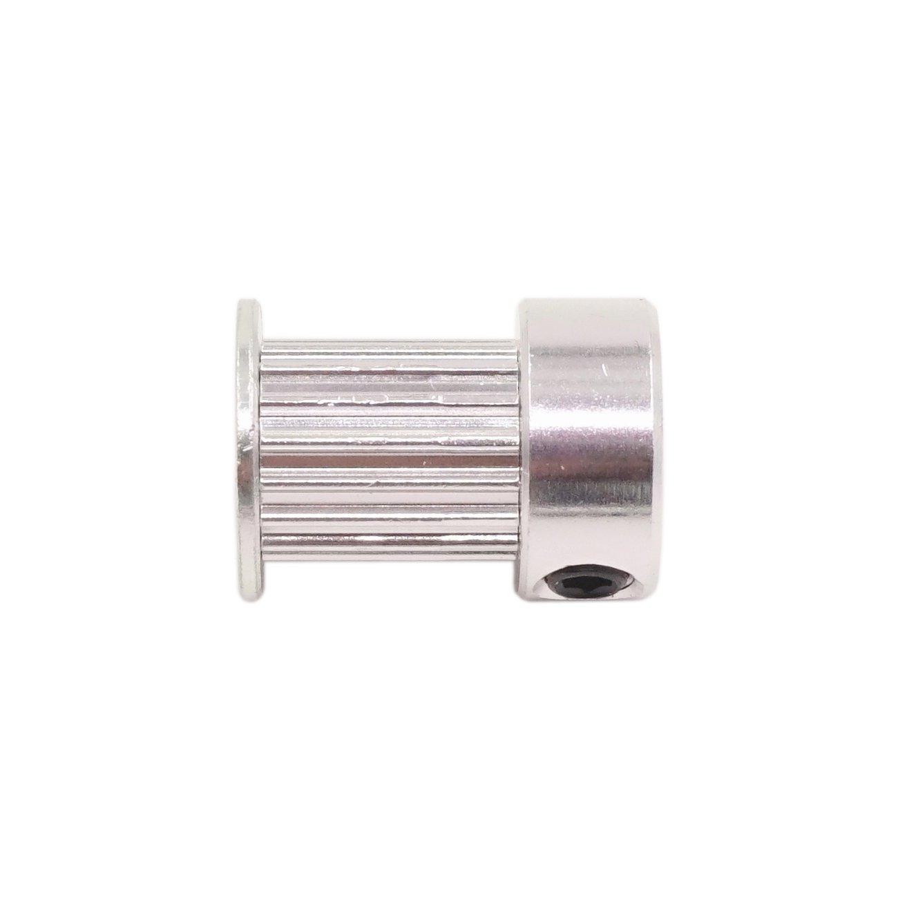 Pack of 5Pcs RepRap Bowden Prusa I3 Mendel Makerbot Kossel Delta WINSINN Aluminum 2GT GT2 Synchronous Wheel 16 Teeth Bore 5mm 16T Timing Pulley For 3D Printer Width 6mm Timing Belt