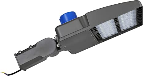 ,UL /& DLC /& CE /& ROHS /… Babis Gopretty 150W LED Shoebox Street Pole Light,Dust to Dawn,Parking Lot Flood Light,Free Photocell Included,6000K Day Light, 500-600W HID//HPS Replacement
