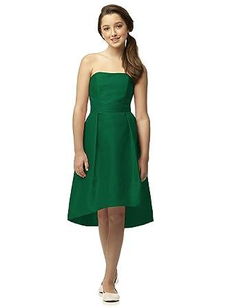Dark Green Party Dress