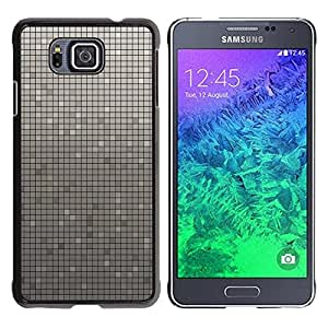 LECELL -- Funda protectora / Cubierta / Piel For Samsung GALAXY ALPHA G850 -- Simple Pattern 33 --