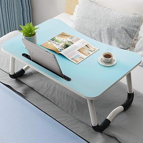 Bandeja de escritorio portátil Mesa plegable - Cama para ...